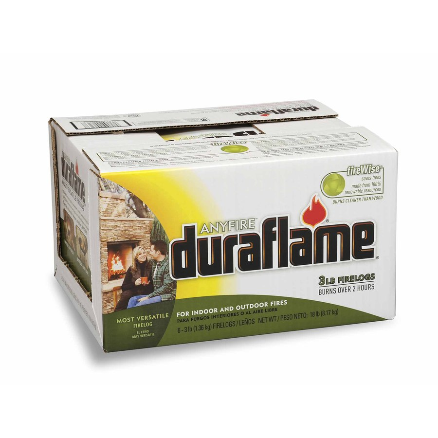 Duraflame 6-Pack Anyfire 3 Lbs. Firelog