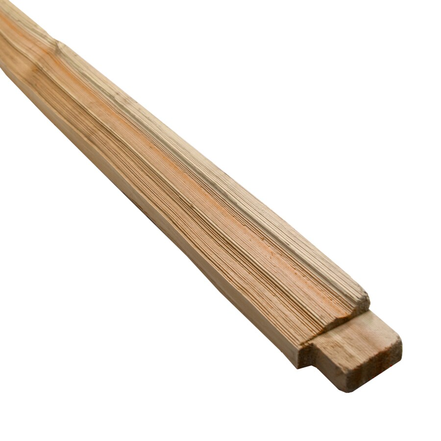 Natural Western Red Cedar Fence Top Rail (Common: 2-in x 4-in x 8-ft; Actual: 2-in x 4-in x 8-ft)