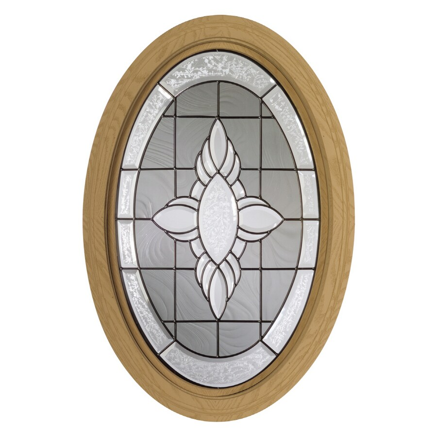 Century Specialty Windows 20.75-in x 32-in Museum Series Primed Triple Pane Double Strength Oval New Construction Window