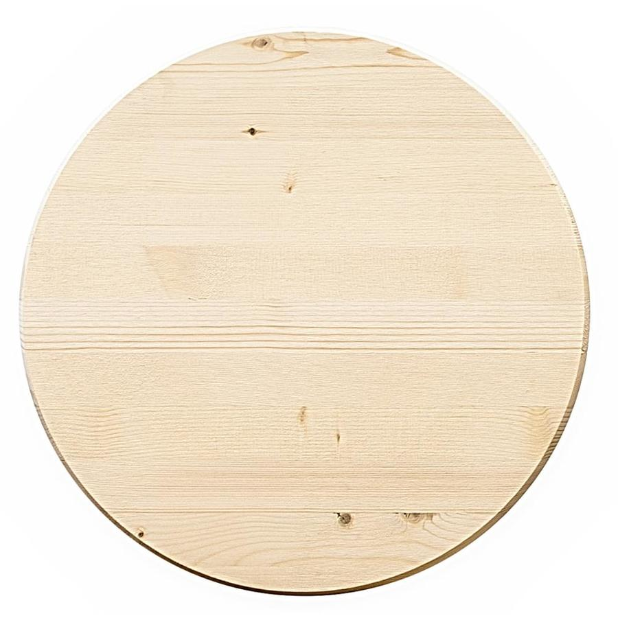Edge-Glued Round Radius Edge Unfinished Englemann/Spruce/Lodgepole/Pine Board (Actual: 1-in x 18-in x 1.5-ft)