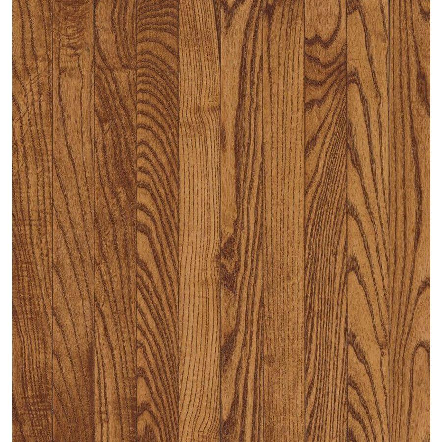 Bruce Laurel Strip 2.25-in W Prefinished Oak Hardwood Flooring (Gunstock)