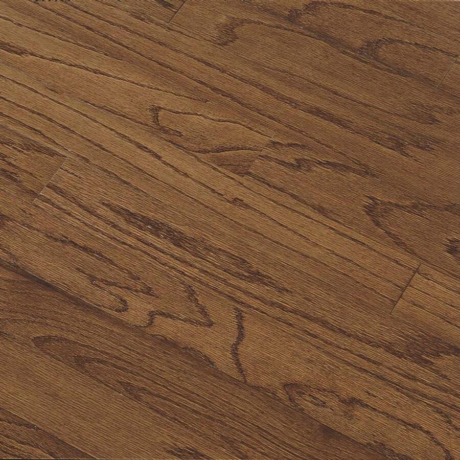 Bruce Hillden Plank 7-in W Prefinished Oak Engineered Hardwood Flooring (Saddle)