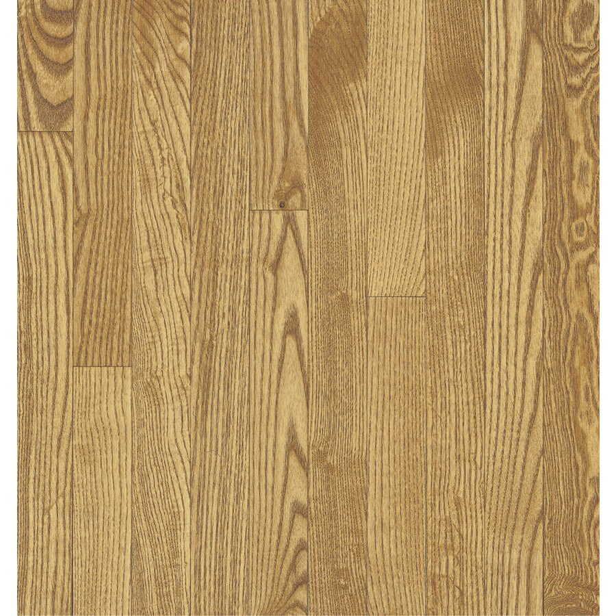 Bruce 2.25-in W x Variable L Oak 3/4-in Solid Hardwood Flooring