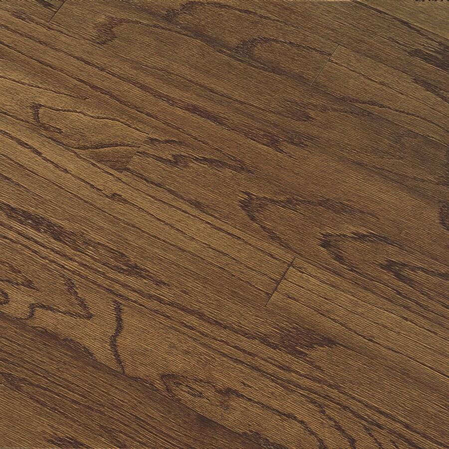 Bruce Hillden Plank 5-in W Prefinished Oak Engineered Hardwood Flooring (Vintage Brown)