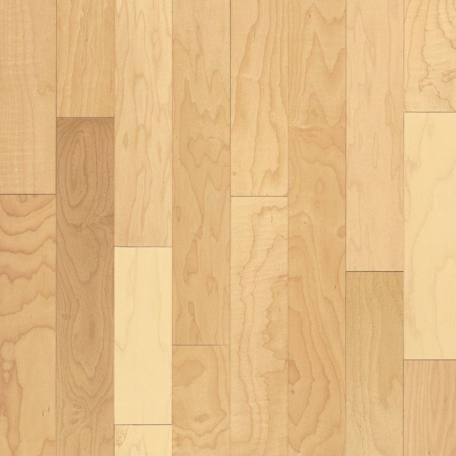 Bruce Kennedale Strip 2.25-in W Prefinished Maple Hardwood Flooring (Natural)