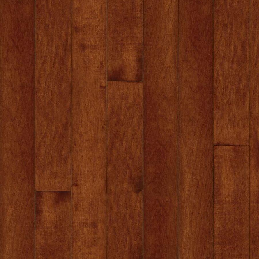 Bruce Kennedale Strip 2.25-in W Prefinished Maple Hardwood Flooring (Cherry)