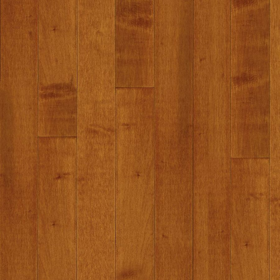 Bruce Kennedale Strip 2.25-in W Prefinished Maple Hardwood Flooring (Cinnamon)