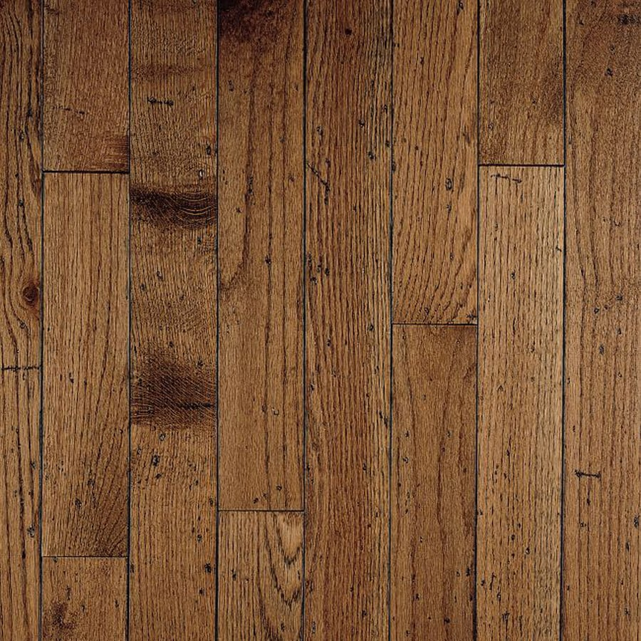 shop bruce gentry plank w prefinished oak hardwood On hardwood plank flooring