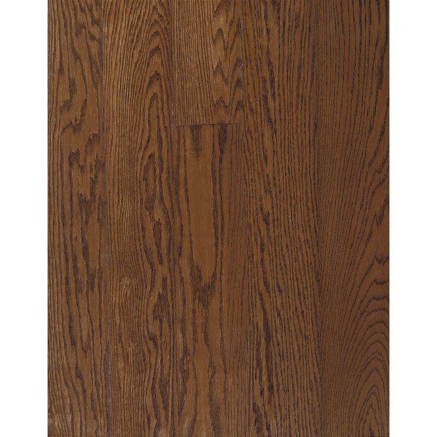 Bruce Bayport Strip 2.25-in W Prefinished Oak Hardwood Flooring (Saddle)