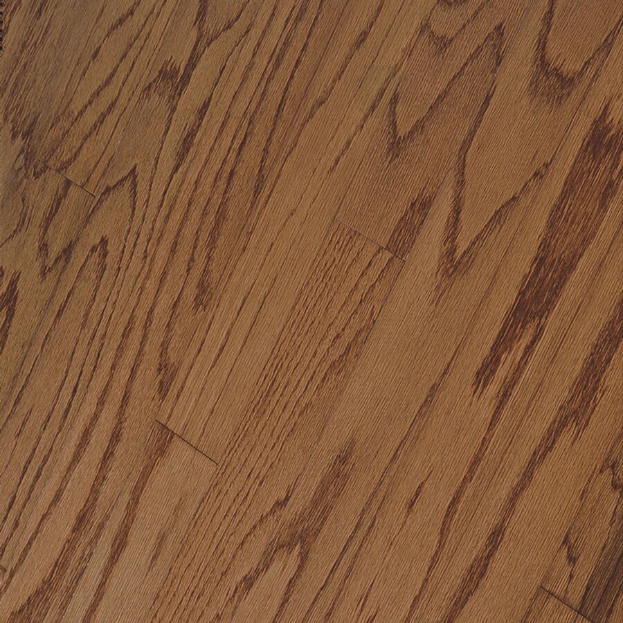 The narrow oak strip flooring