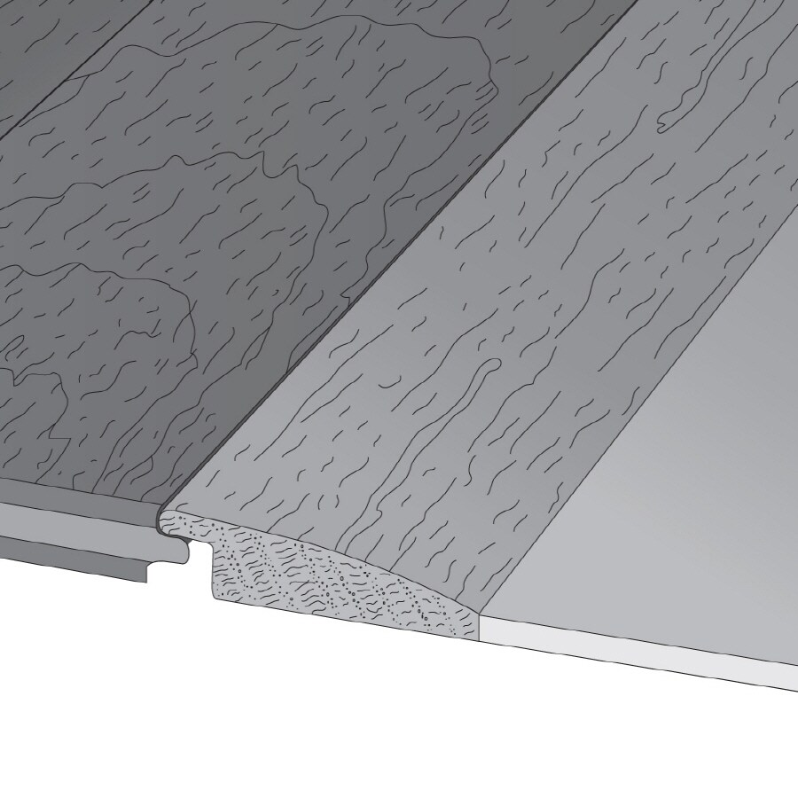 Bruce 1.5-in x 78-in Natural Reducer Floor Moulding