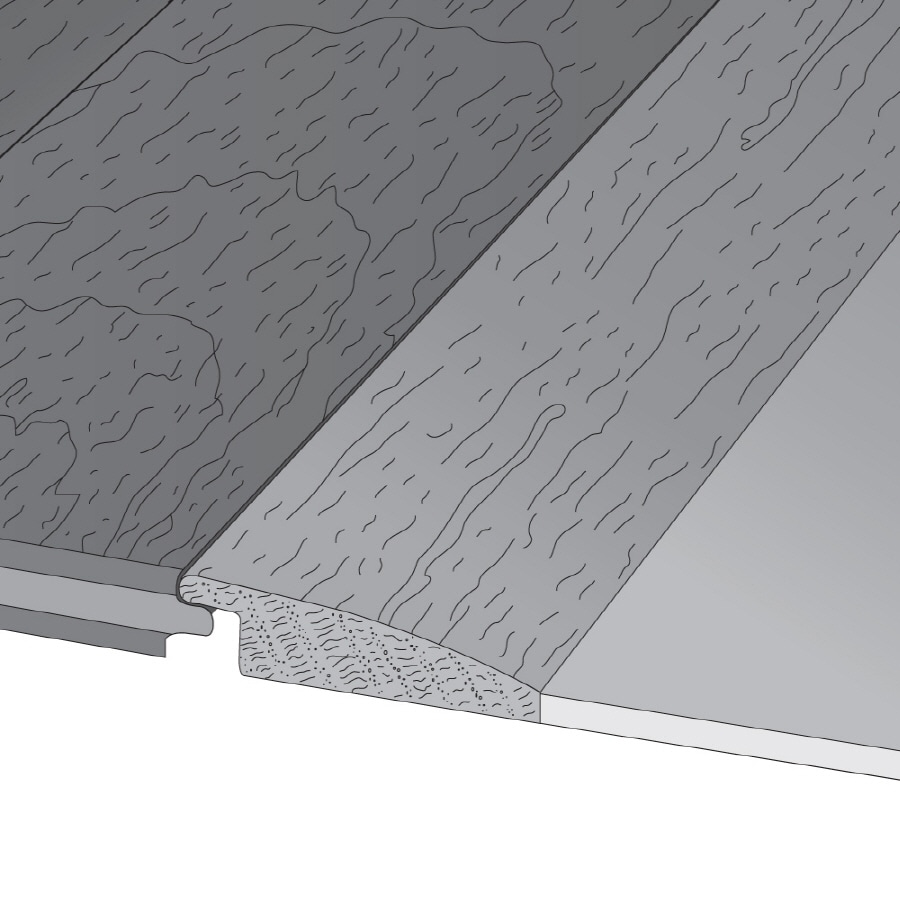 Bruce 2.25-in x 78-in Fawn Oak Reducer Floor Moulding