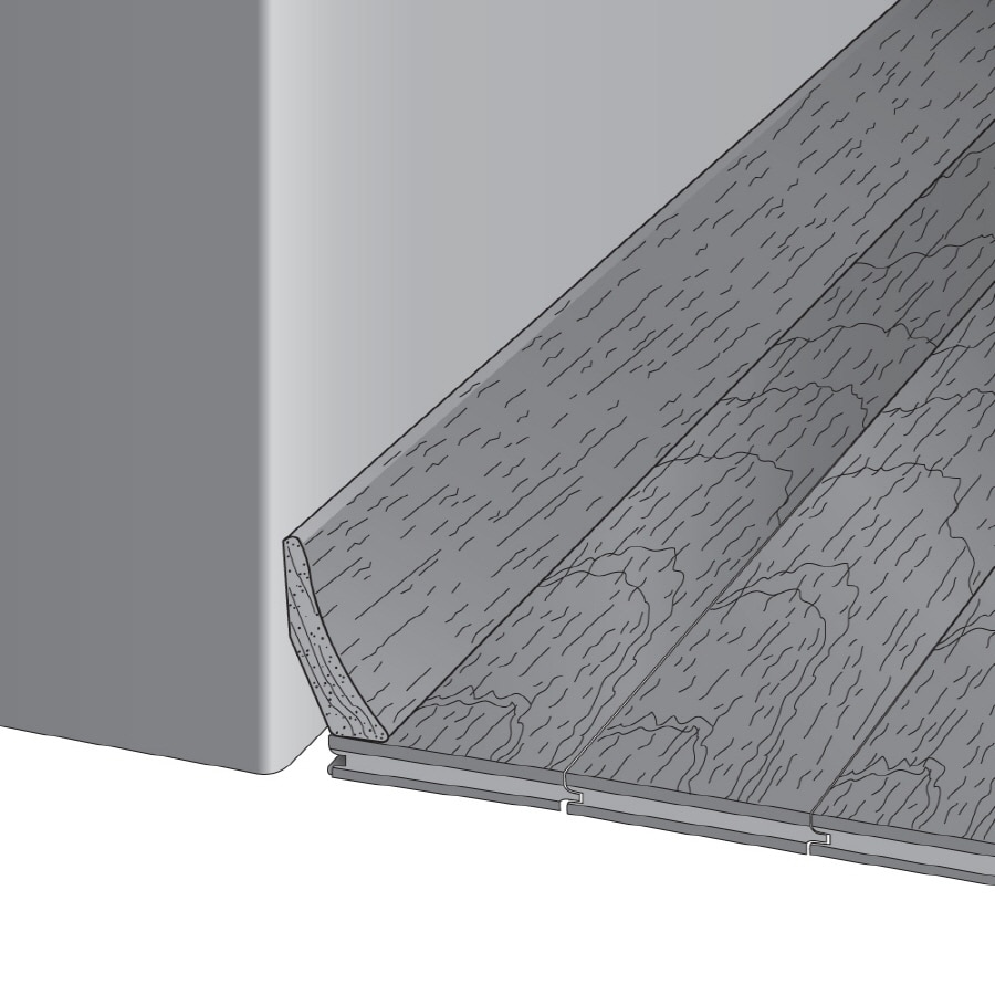 Bruce 1.81-in x 78-in Saddle Oak Base Floor Moulding