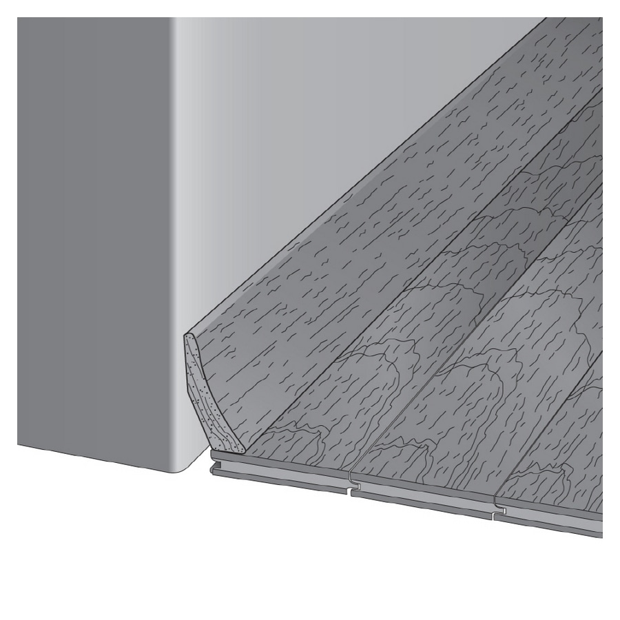 Bruce 1.81-in x 78-in Dune Base Floor Moulding