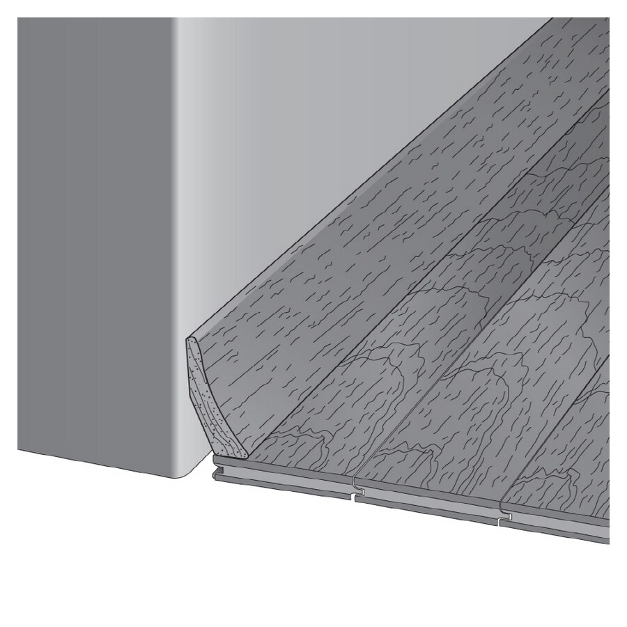 Bruce 1.81-in x 78-in Natural Base Floor Moulding