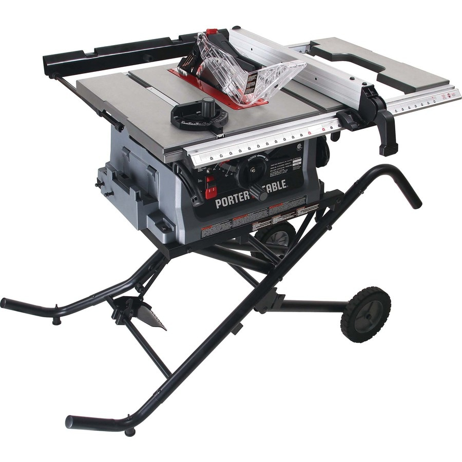 Shop porter cable 15 amp 10 in table saw at for 10 table saws