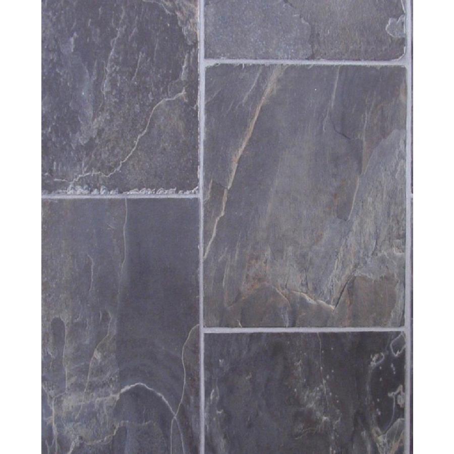 Tarkett 12-ft W Steel Stone Low-Gloss Finish Sheet Vinyl