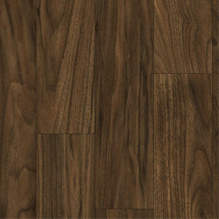 Tarkett 12-ft W Coffee Brown Wood Low-Gloss Finish Sheet Vinyl