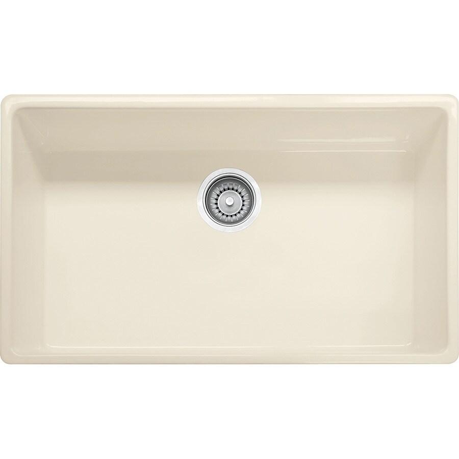 Franke Farm House 20-in x 30.125-in Linen Single-Basin Fireclay Undermount Residential Kitchen Sink