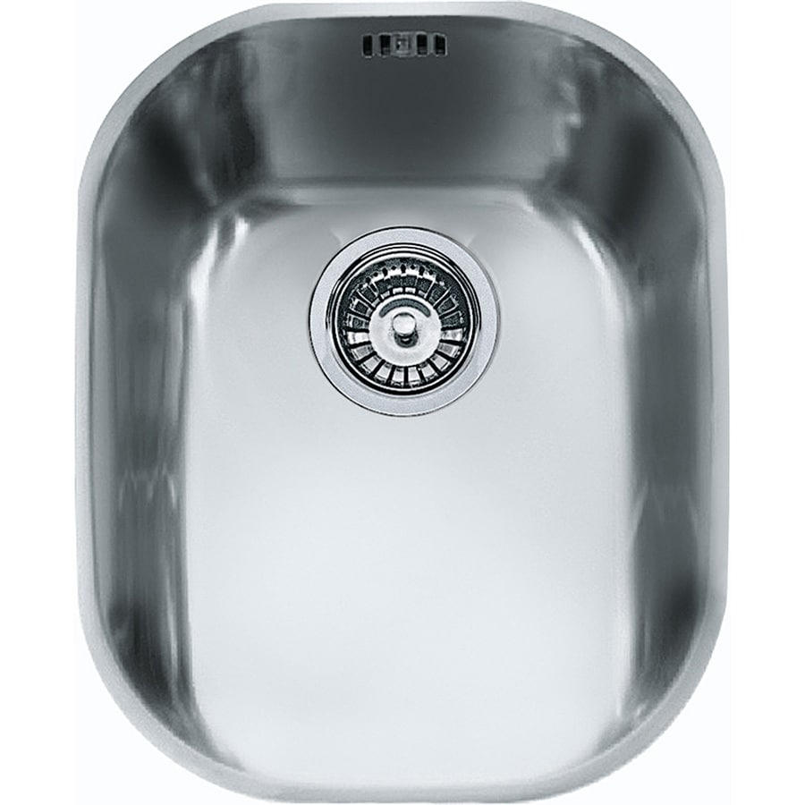 Franke Compact 17.25-in x 14.125-in Stainless Steel Single-Basin Undermount Residential Kitchen Sink