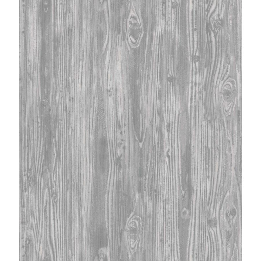 Tempaper Pewter Repositionable Vinyl Self-Adhesive Textured Wallpaper