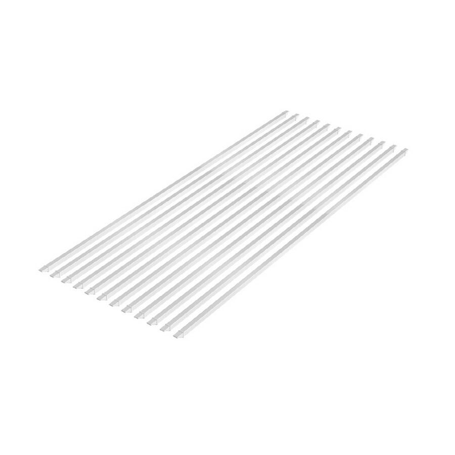 Eden White Vinyl Shade Kit