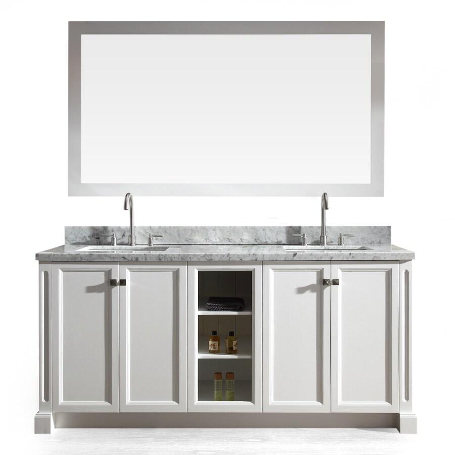 73 Double Sink Vanity With Top