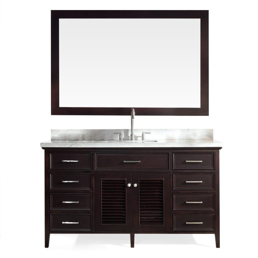 espresso undermount single sink asian hardwood bathroom vanity