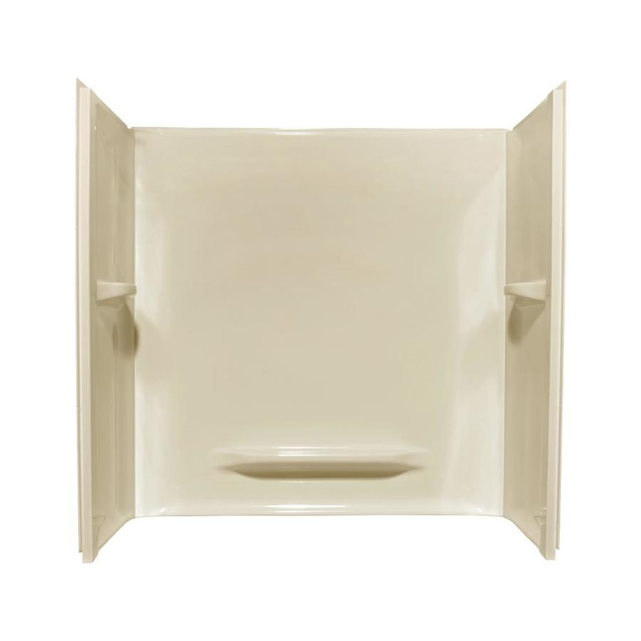 Style Selections Acrylic Bathtub Wall Surround (Common: 30-in x 60-in; Actual: 59-in x 30-in x 60-in)