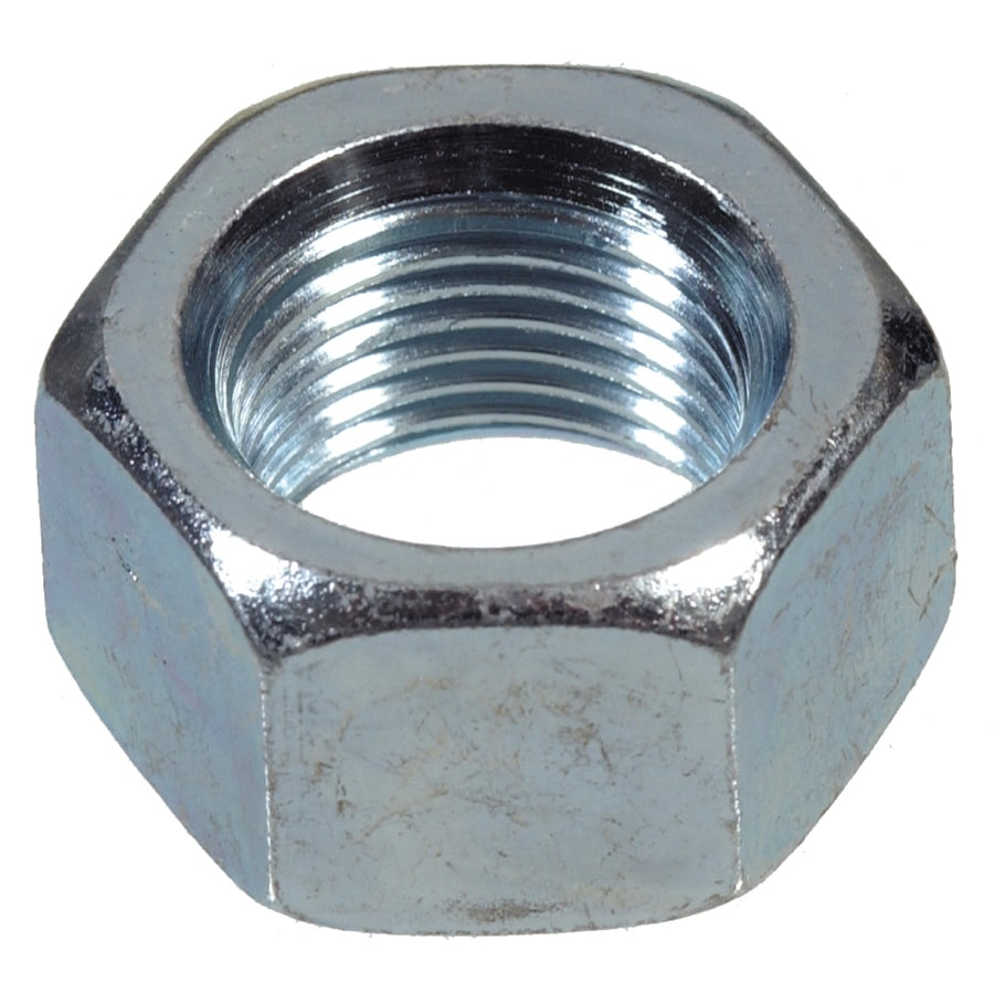 The Hillman Group 6-Count 7/16-in Zinc-Plated Standard (SAE) Hex Nuts