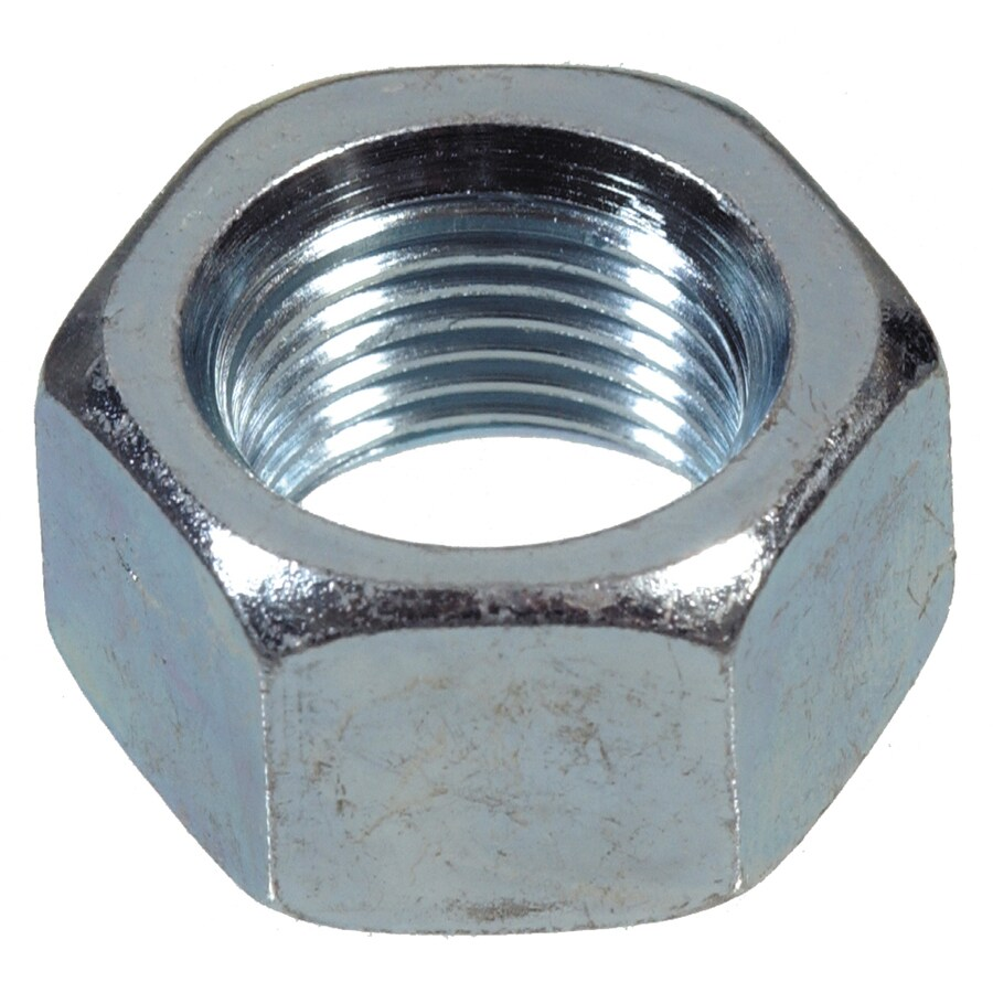 The Hillman Group 6-Count 1/2-in Zinc-Plated Standard (SAE) Hex Nuts