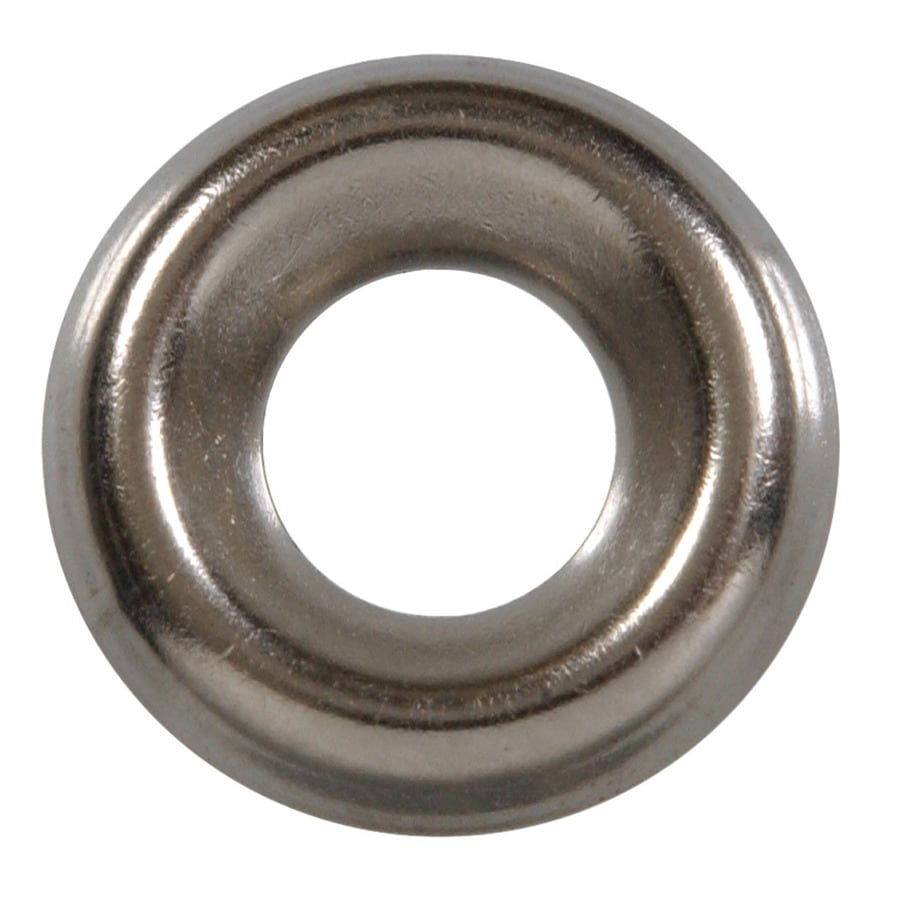 The Hillman Group 48-Count #6 x 3/8-in Nickel Standard (SAE) Flat Washers