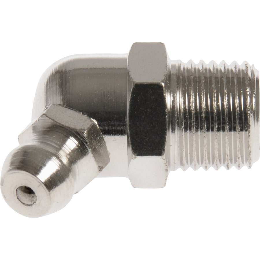 The Hillman Group 1/8-27 65-Degree Button Head Parallel Grease Fitting
