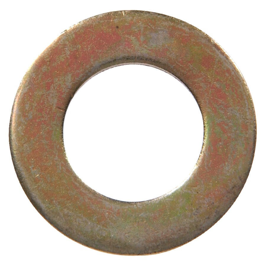 The Hillman Group 6-Count 1-in Yellow Zinc Standard (SAE) Flat Washers