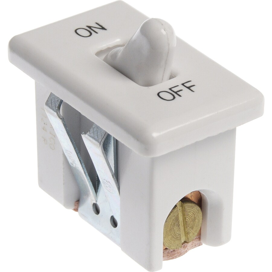 The Hillman Group 3-Pack Single Pole White Light Switches