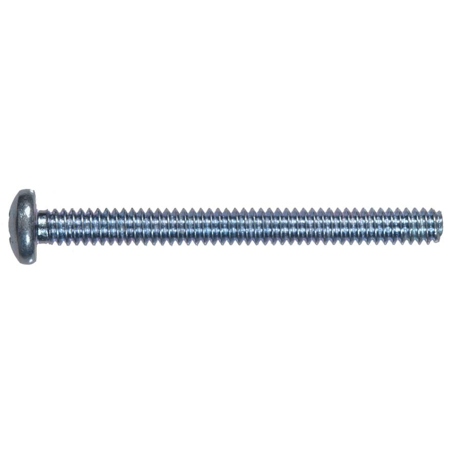 The Hillman Group 100-Count #10-24 x 2-in Pan-Head Zinc-Plated Standard (SAE) Machine Screws