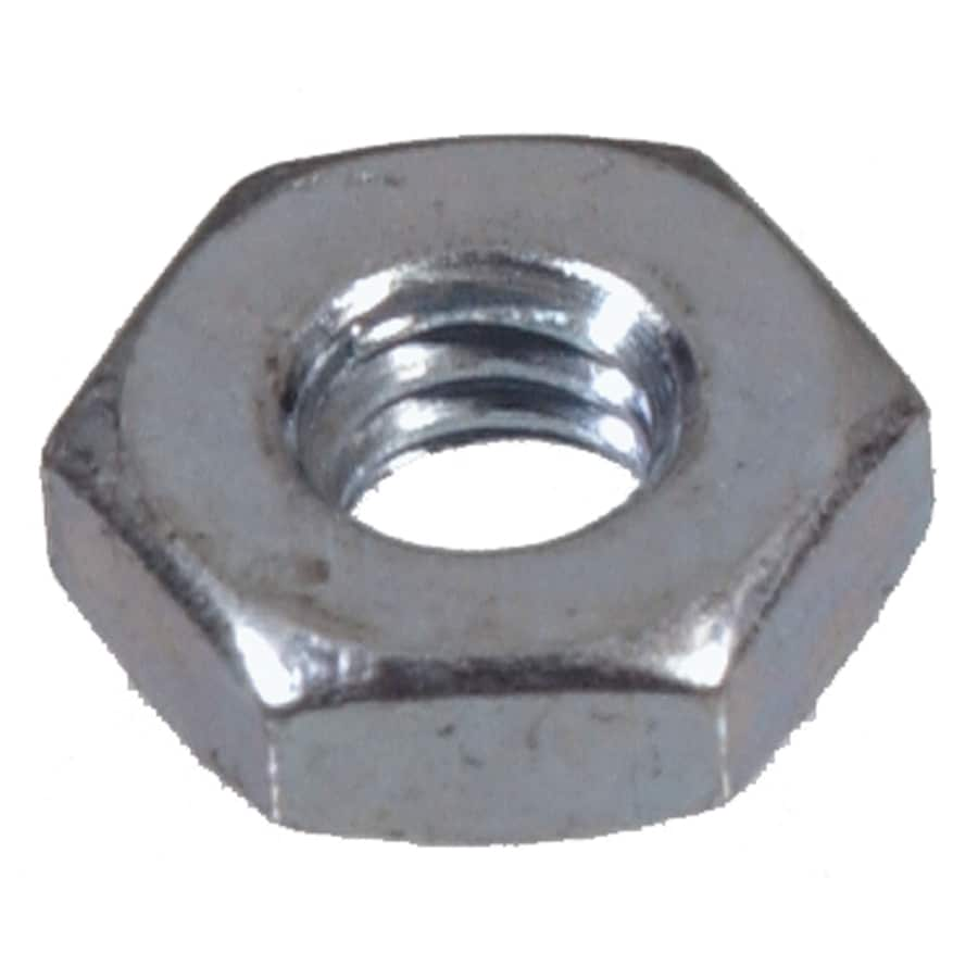 The Hillman Group 100-Count #6 Zinc-Plated Standard (SAE) Hex Nuts