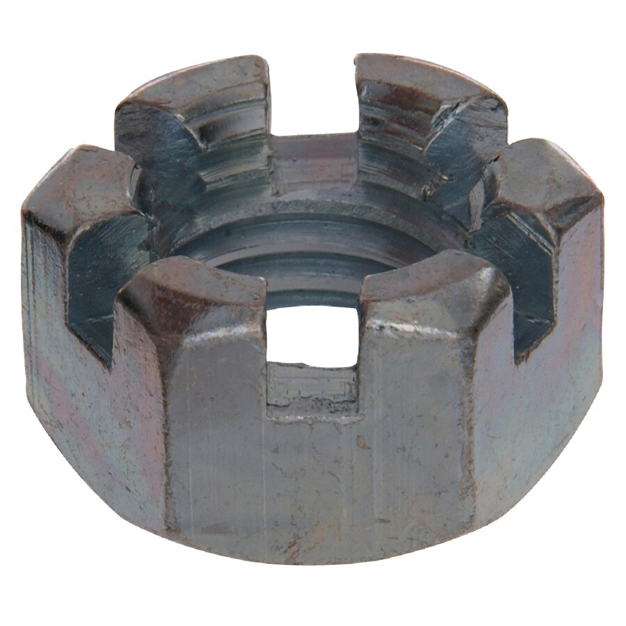 The Hillman Group 50-Count 9/16-in Zinc-Plated Standard (SAE) Hex Nuts