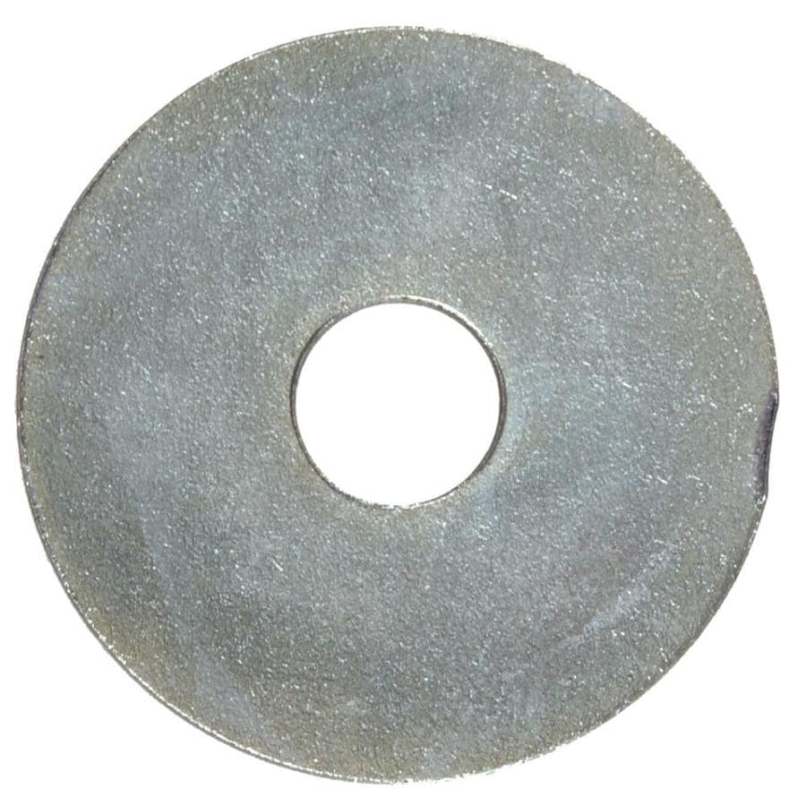 The Hillman Group 100-Count 3/16-in x 1-1/2-in Zinc Plated Standard (SAE) Fender Washers
