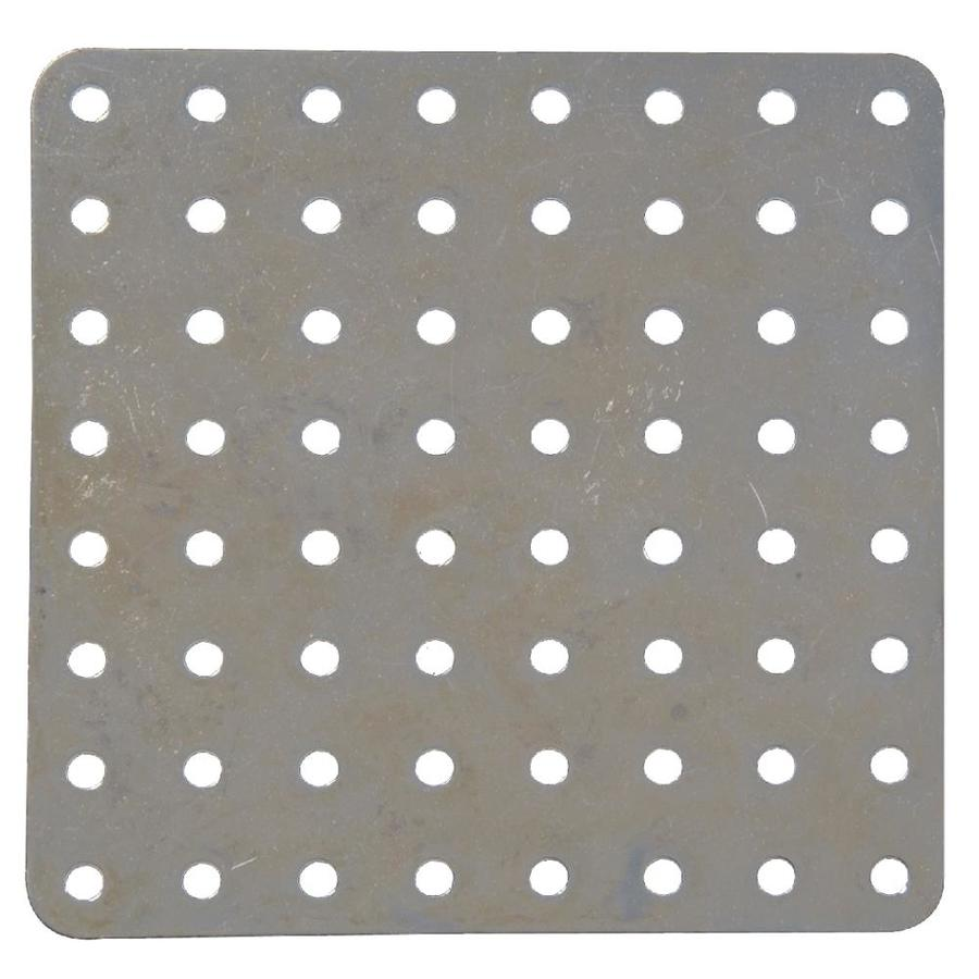 The Hillman Group 4-in x 1/4-in Metal Slotted Square Plate