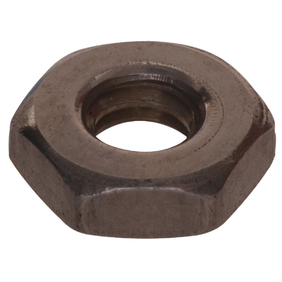 The Hillman Group 100-Count #12 Stainless Steel Standard (SAE) Hex Nuts