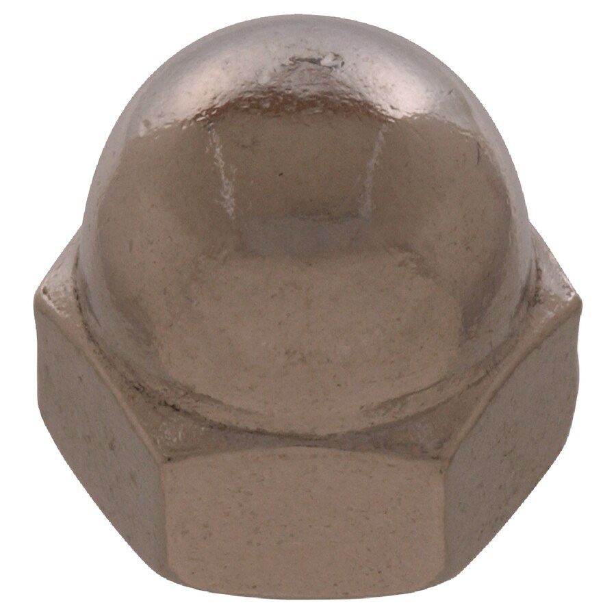 The Hillman Group 50-Count 3/8-in Stainless Steel Standard (SAE) Cap Nuts