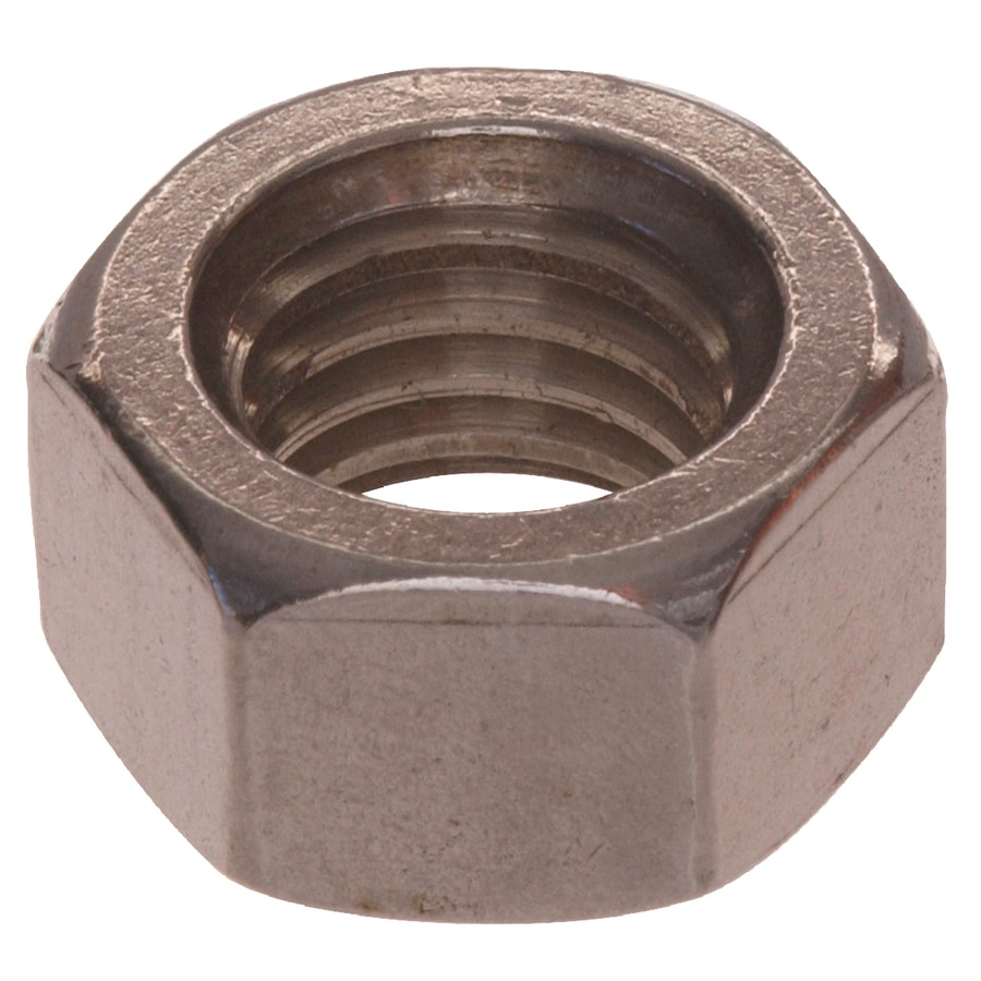 The Hillman Group 100-Count #1 Stainless Steel Standard (SAE) Hex Nuts