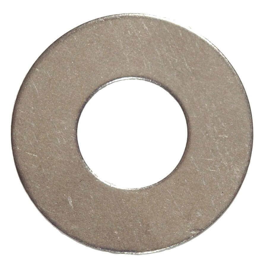 The Hillman Group 100-Count #2 x 1/4-in Stainless Steel Standard (SAE) Flat Washers