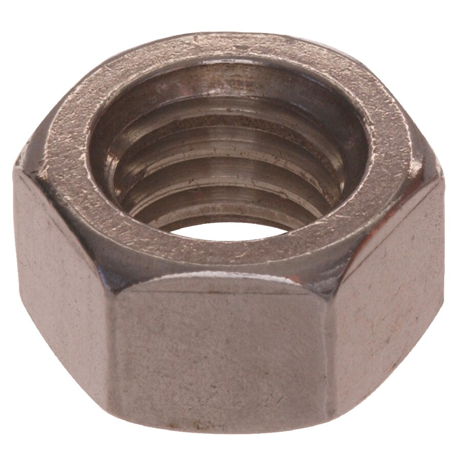 The Hillman Group 100-Count #3 Stainless Steel Standard (SAE) Hex Nuts