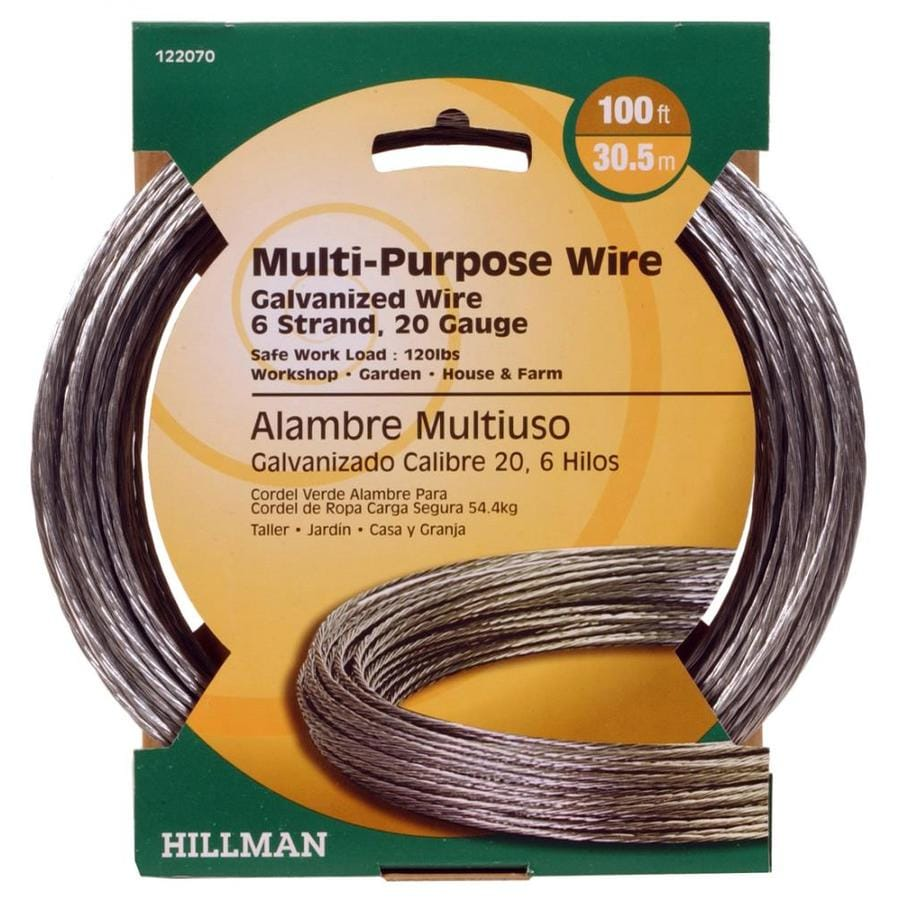 The Hillman Group Steel Picture Hanger Wire