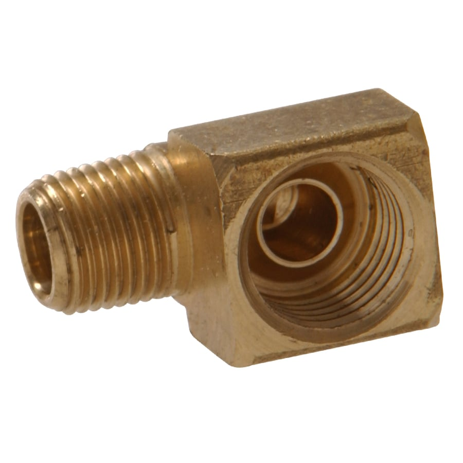 The Hillman Group 6-Pack 1/4-in x 1/8-in Threaded Street Elbow Elbow Fittings
