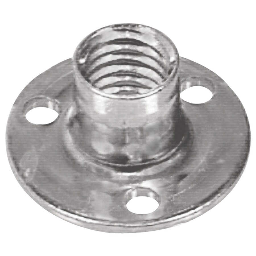The Hillman Group 8-Count 3/8-in Stainless Steel Standard (SAE) Brad Hole Tee Nuts