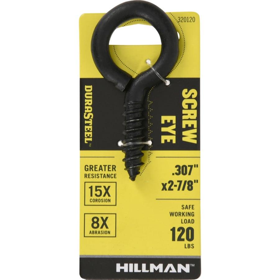 Stainless Steel Hardware Essentials 320984 Large Screw Eye 0.225 x 2-3//16 10 Piece