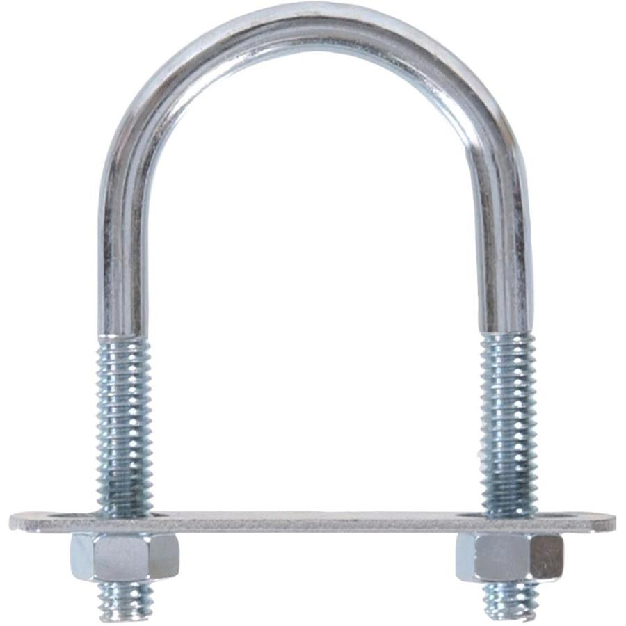 The Hillman Group 5-Count 2.5-in W x 3.5-in L x 5/16-in Dia Zinc-Plated U-Bolt